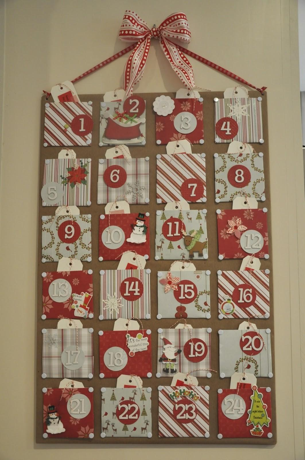 Christmas Craft Advent Calendar Honey Home