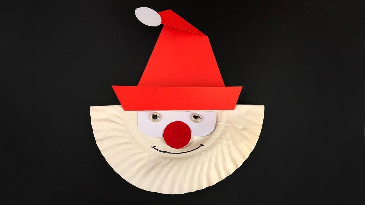 Christmas Craft Ideas Using Paper Plates