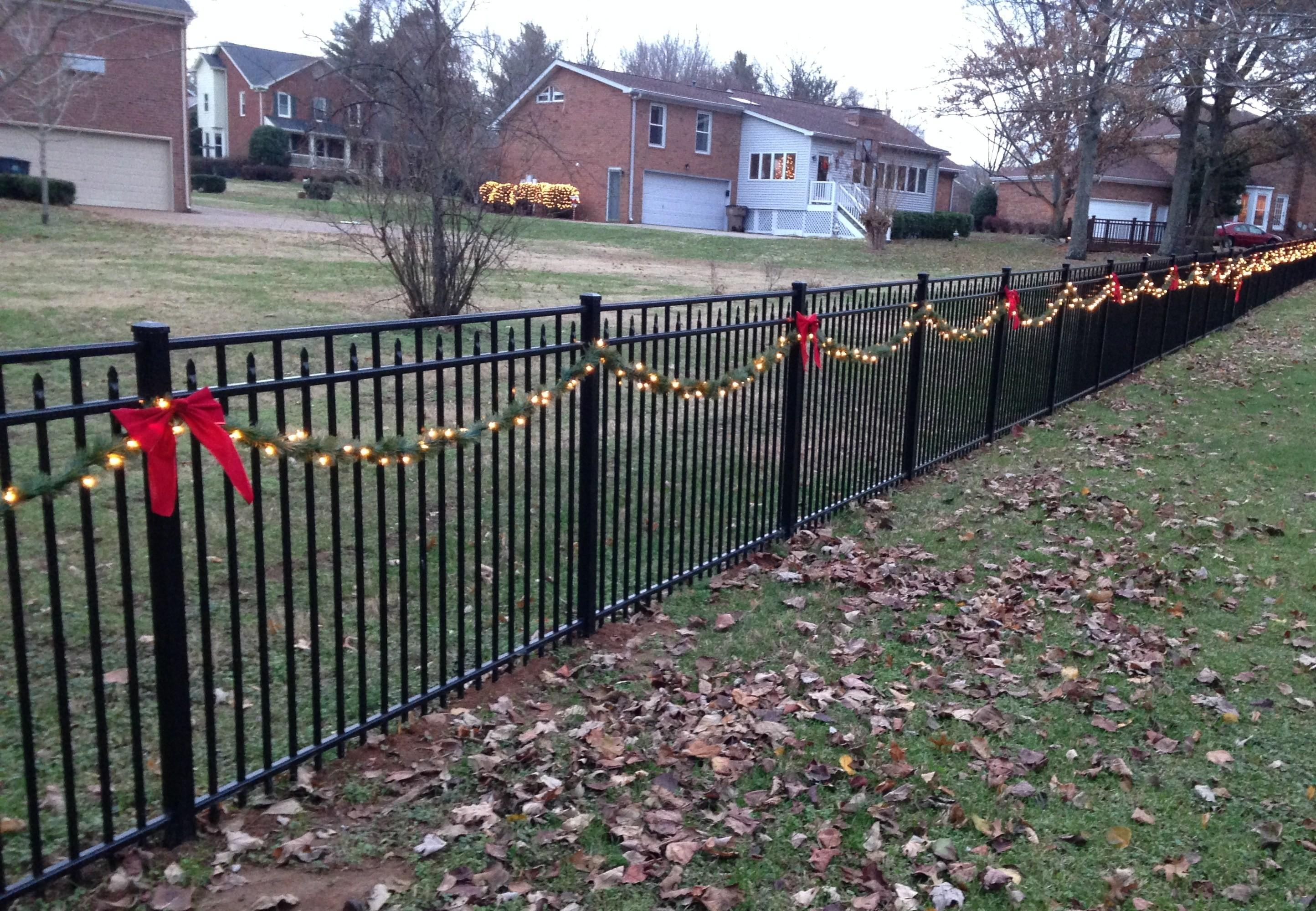 Christmas Decorating Ideas Your Fence Ornaco