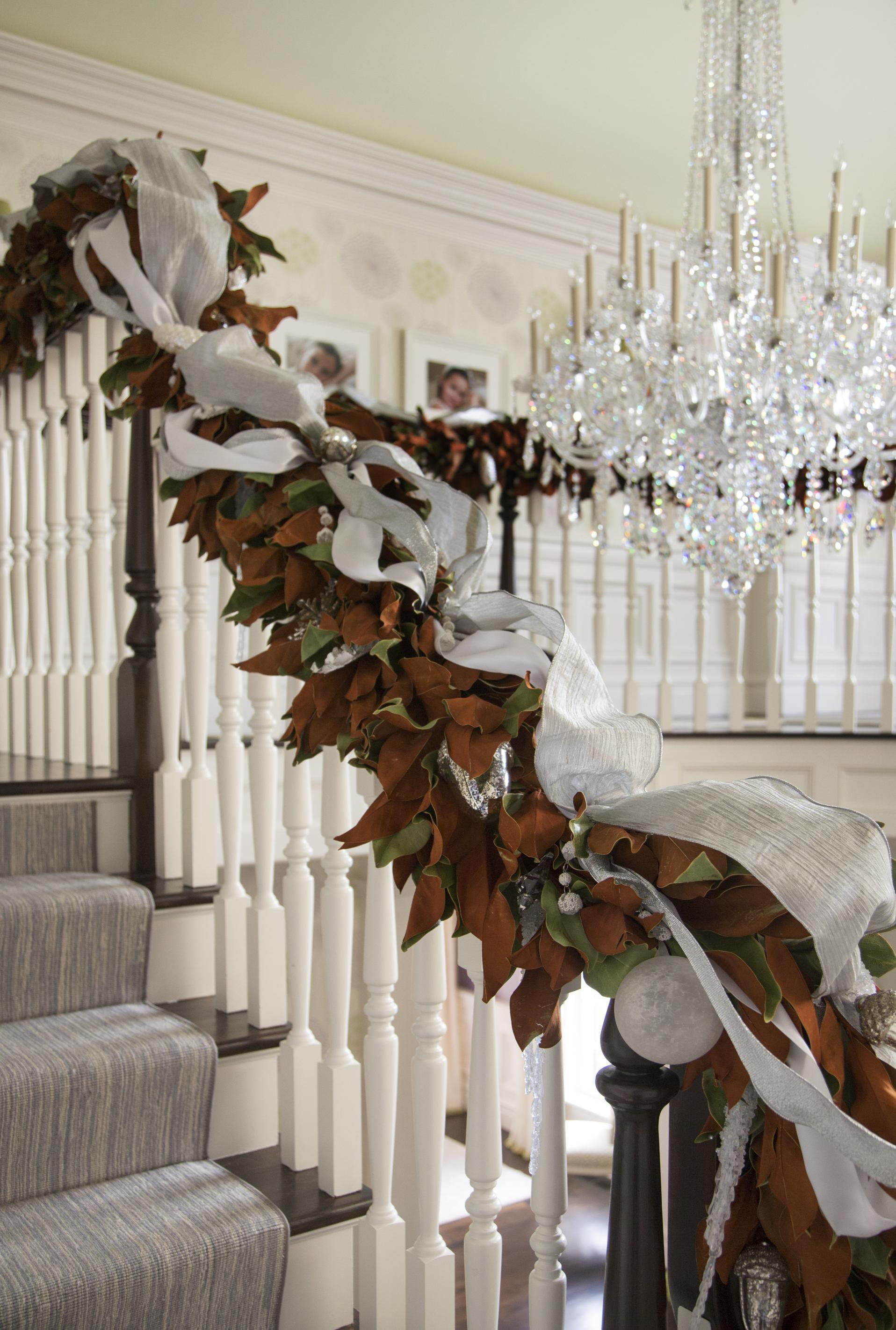 Christmas Decorating Staircase Archives Splendid