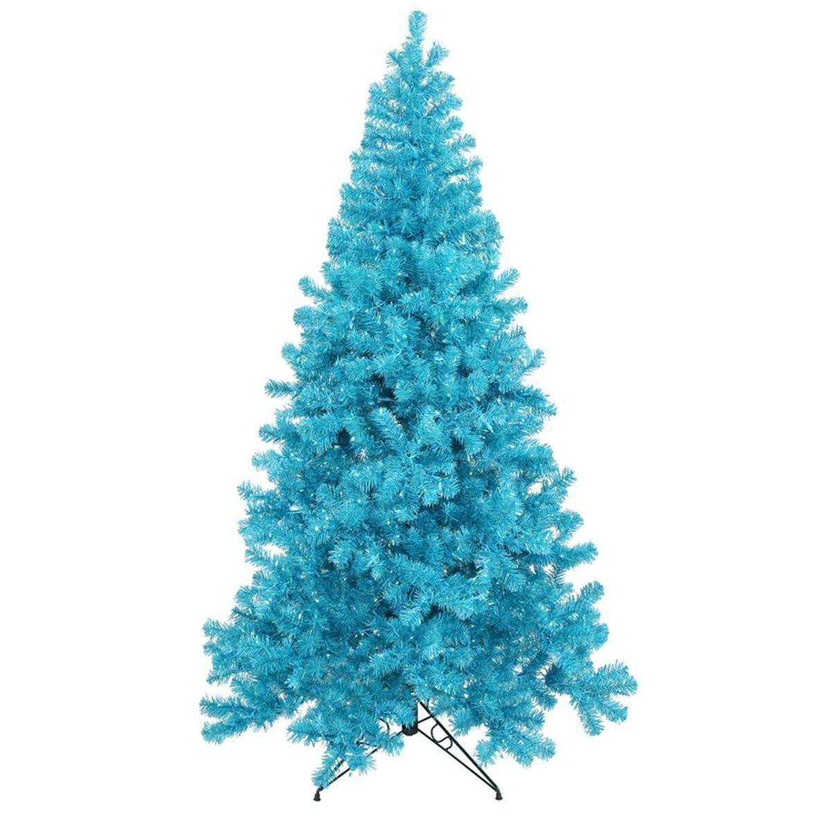 Christmas Decoration Inspiration Blue Trees