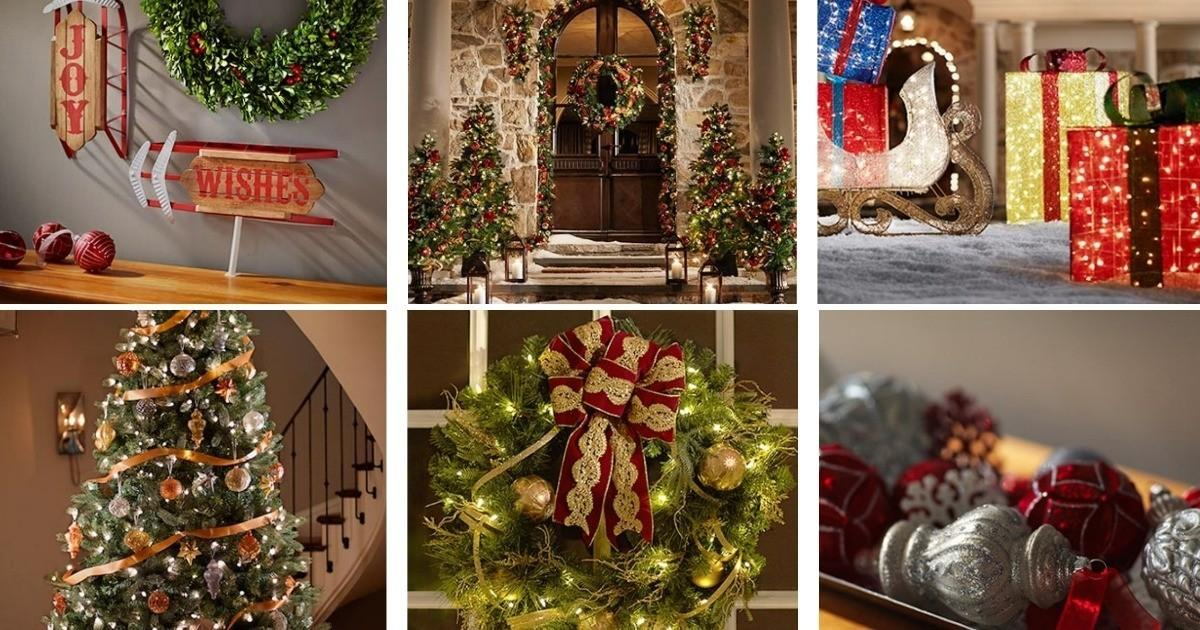 Christmas Decorations Clearance 2017 Business Template