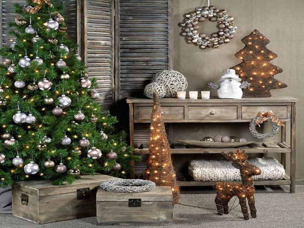 Christmas Dining Room Table Decoration Ideas Rustic
