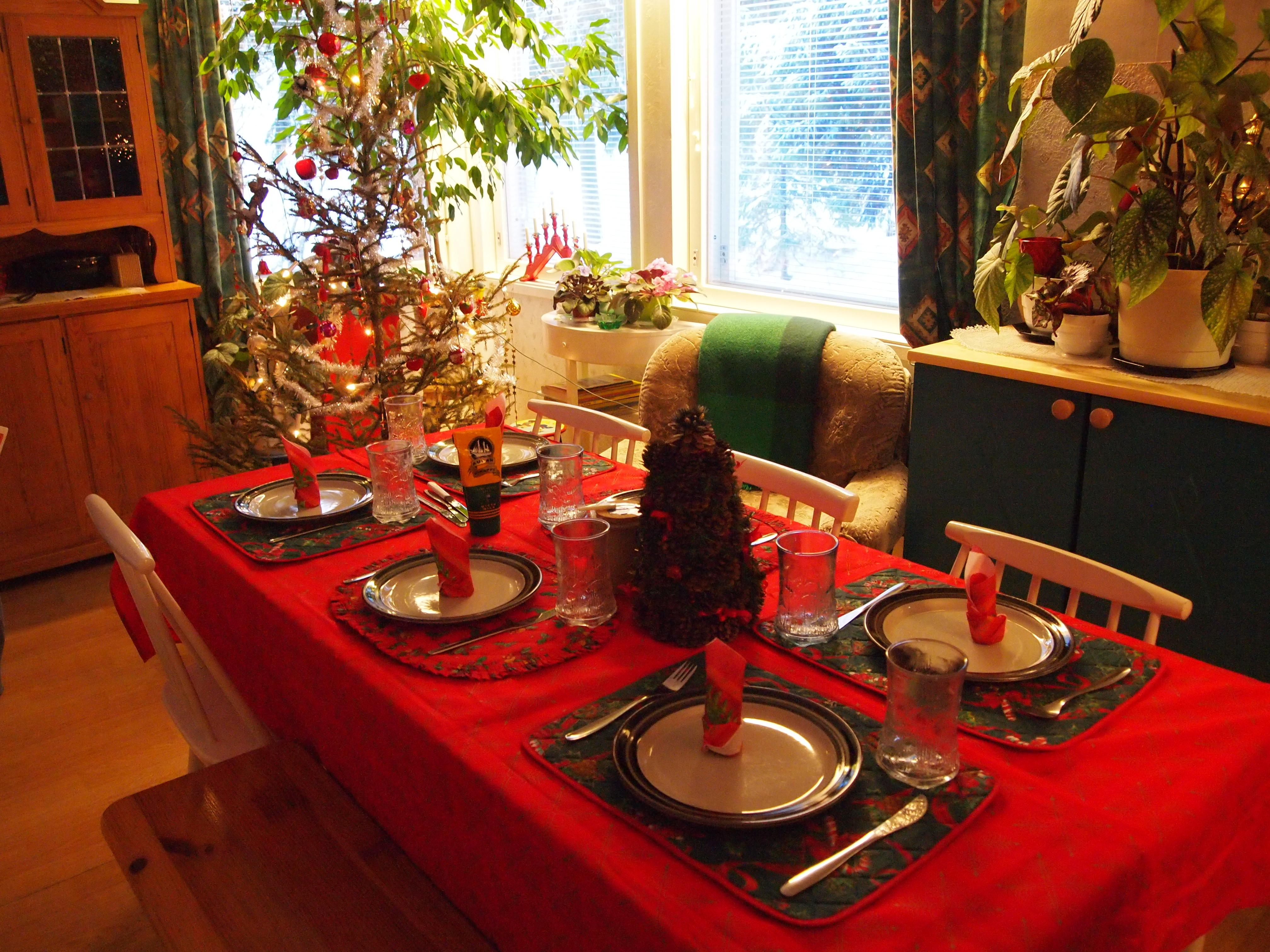 Christmas Dinner Decoration Ideas Diy