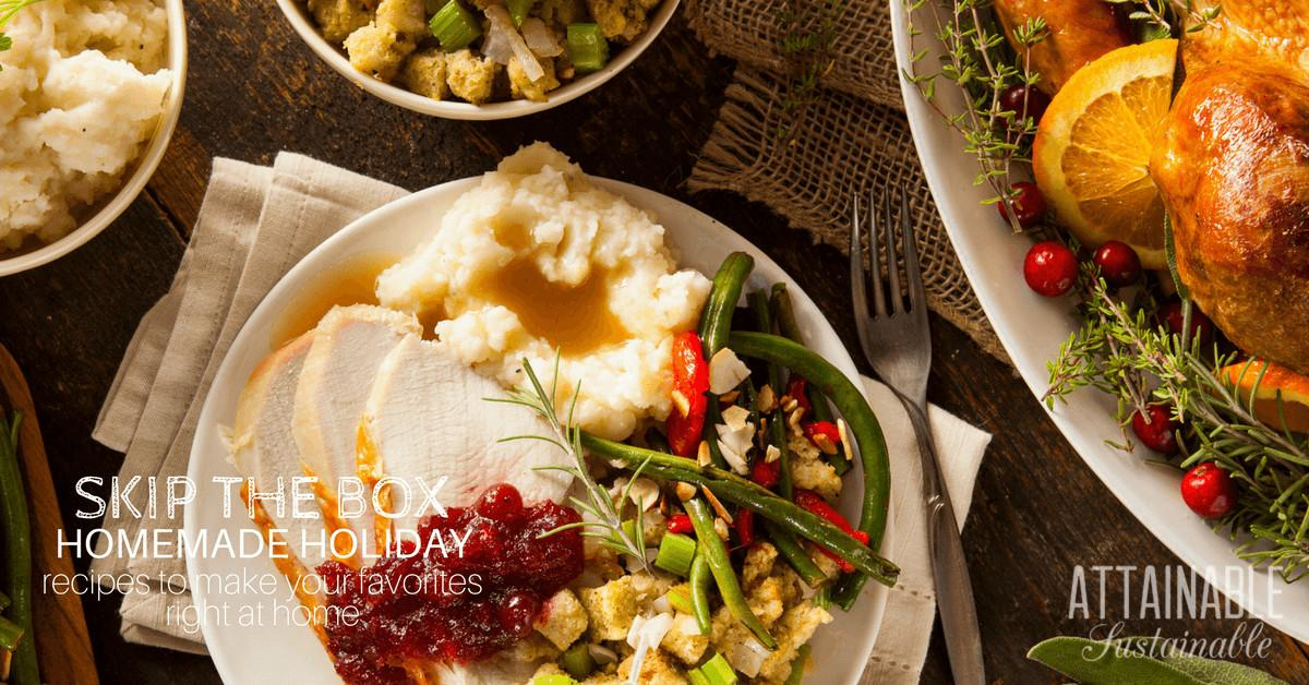 Christmas Dinner Ideas Supermarket Products Can Make