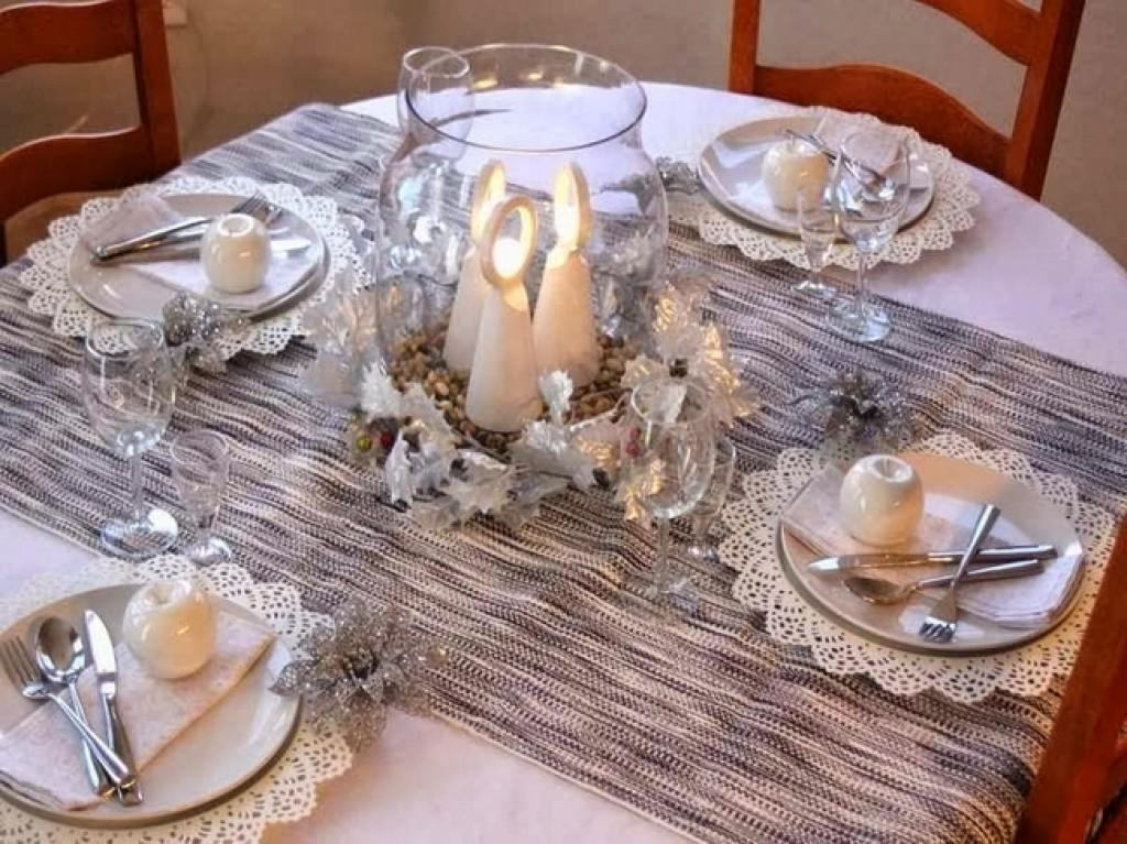 Christmas Dinner Table Decorations Easy Diy Ideas