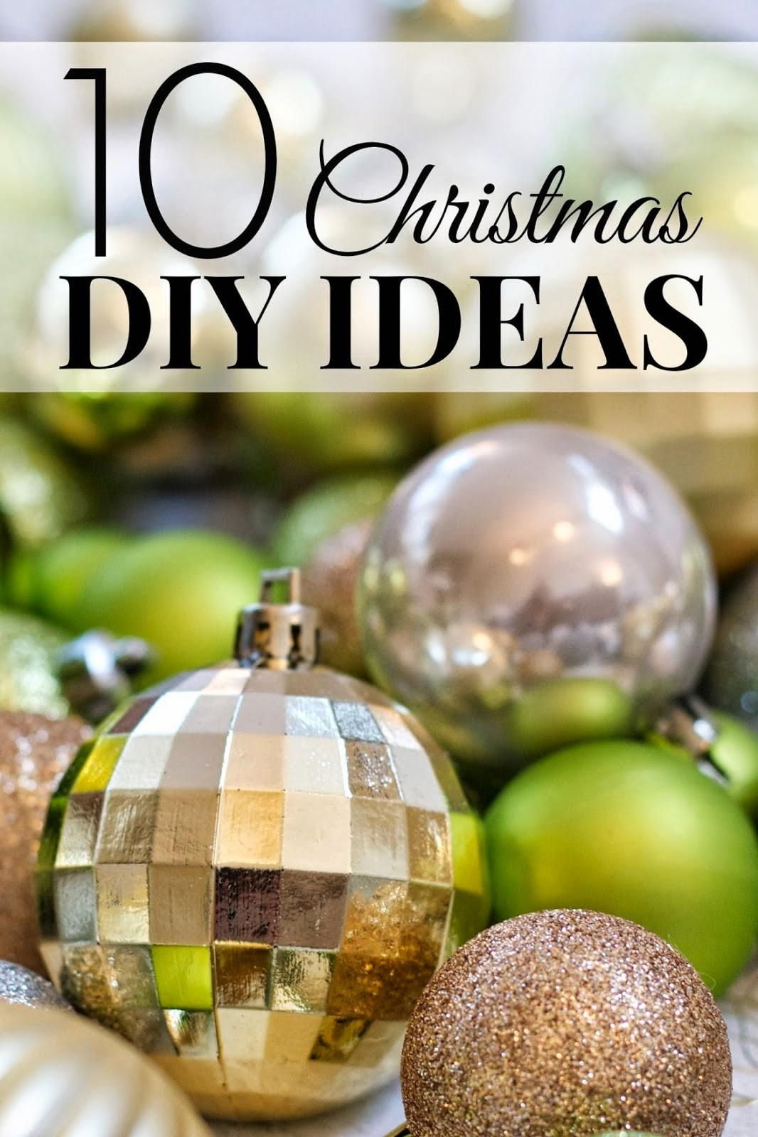 Christmas Diy Ideas Craft Projects
