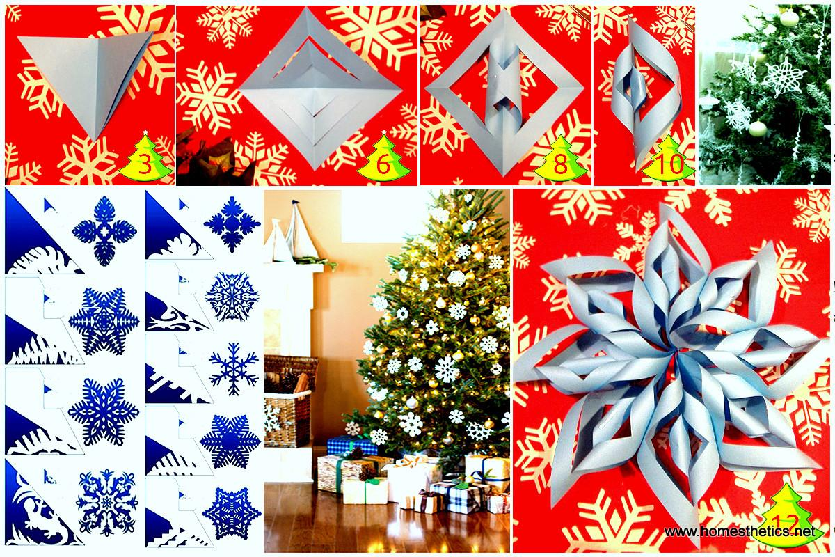 Christmas Diy Paper Snowflake Projects Beautify