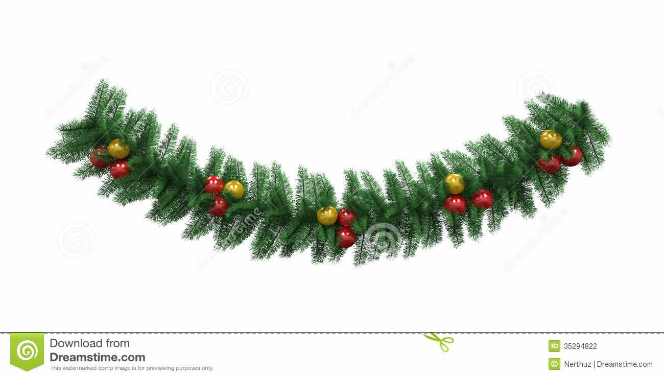 Christmas Garland Decorations Letter Recommendation