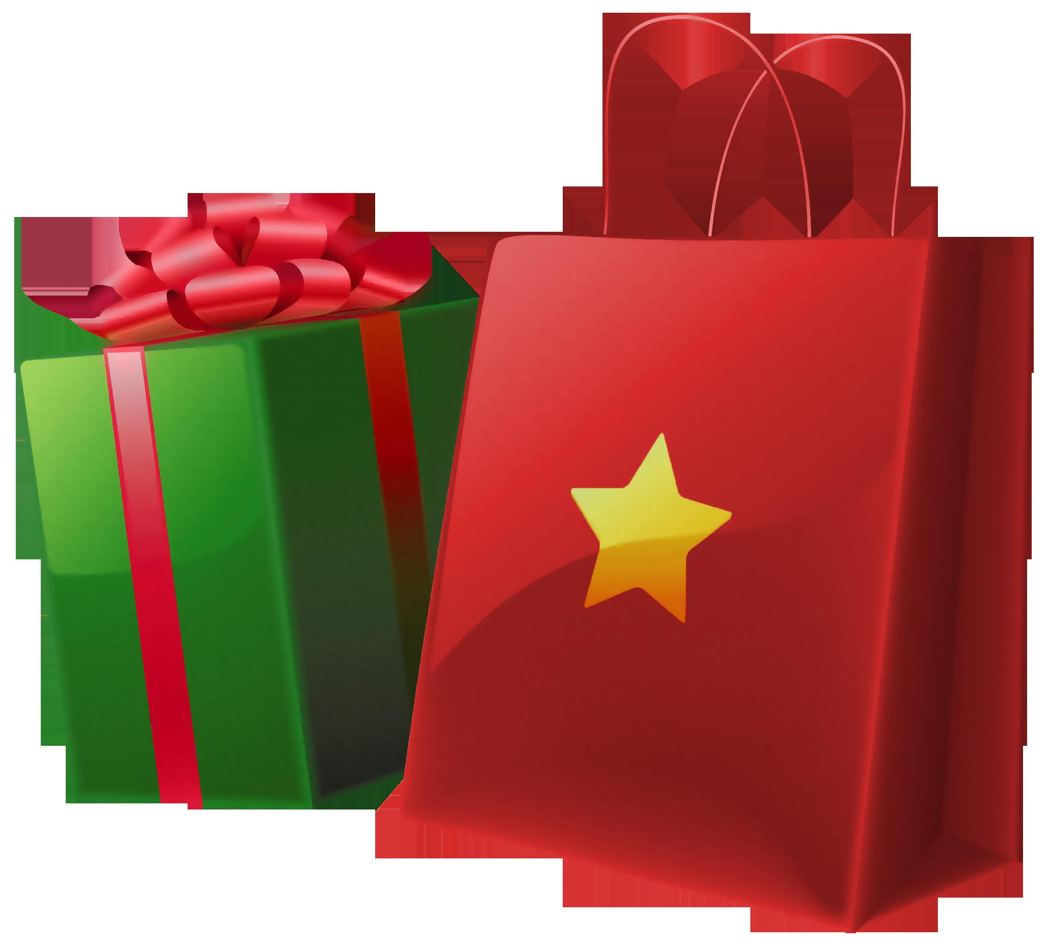 Christmas Gift Clip Art Cliparts