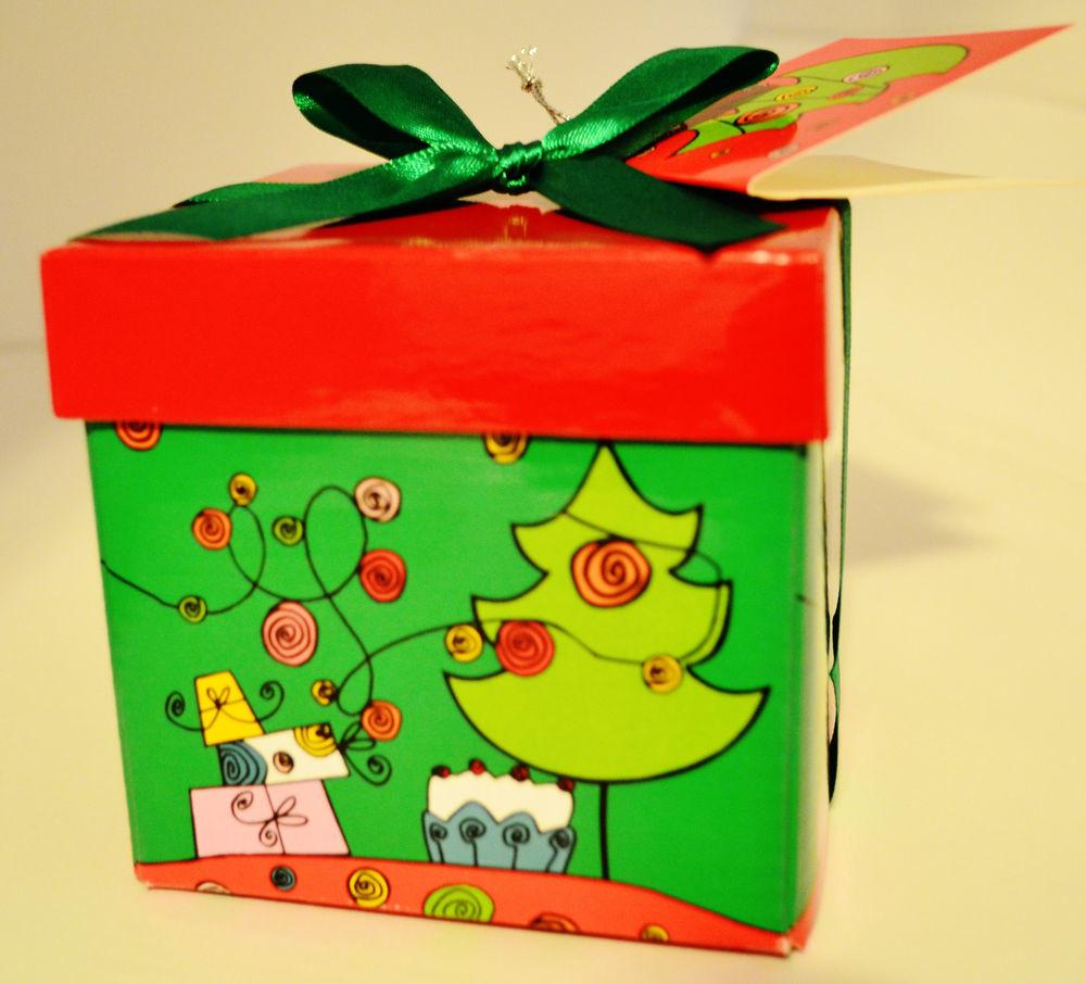 Christmas Holiday Gift Box Extra Small Jewelry