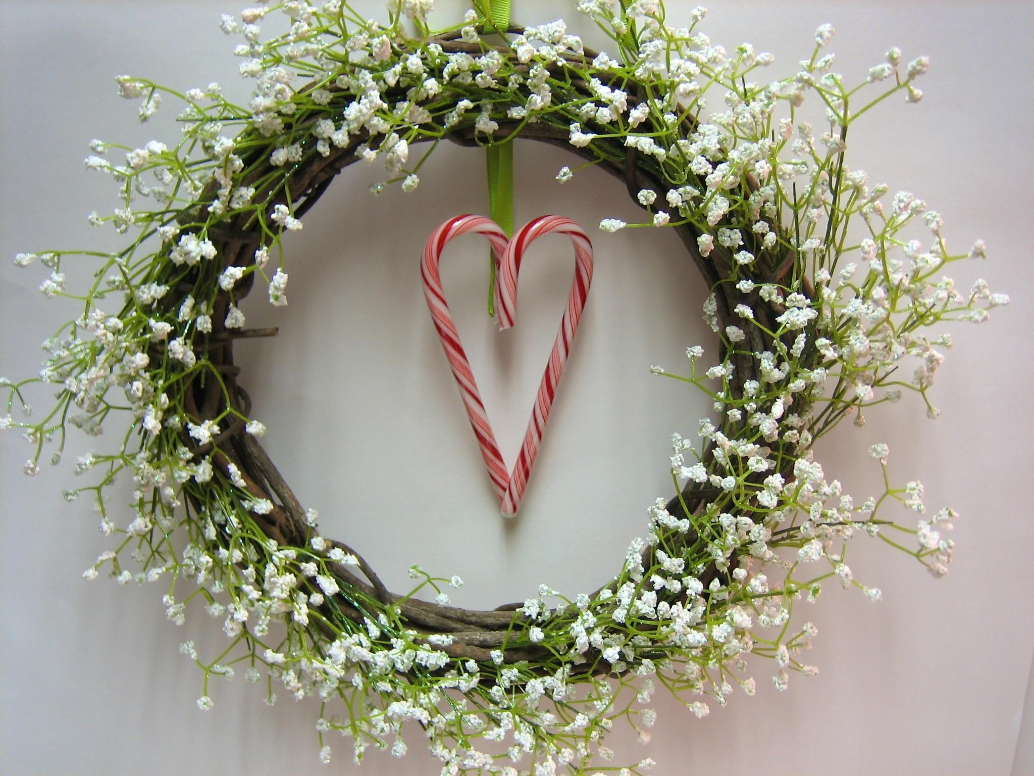 Christmas July Holiday Wreath