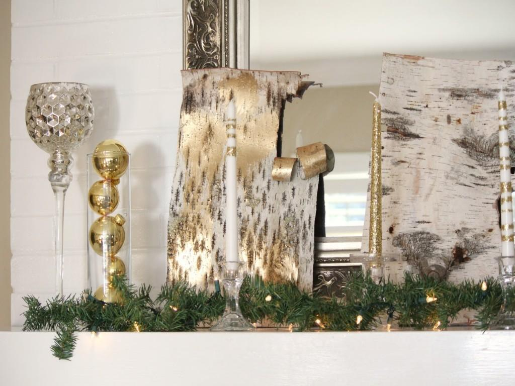 Christmas Mantel Decorating Awesome House