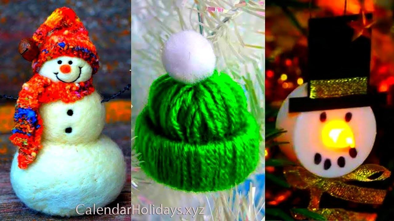 Christmas New Year Decorations 2018 Easy Crafts