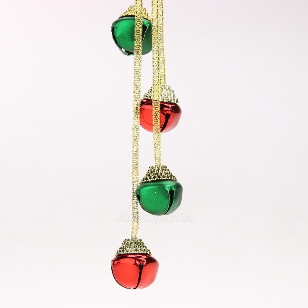 Christmas Ornament Tree Hanging Festival Party Xmas Bells