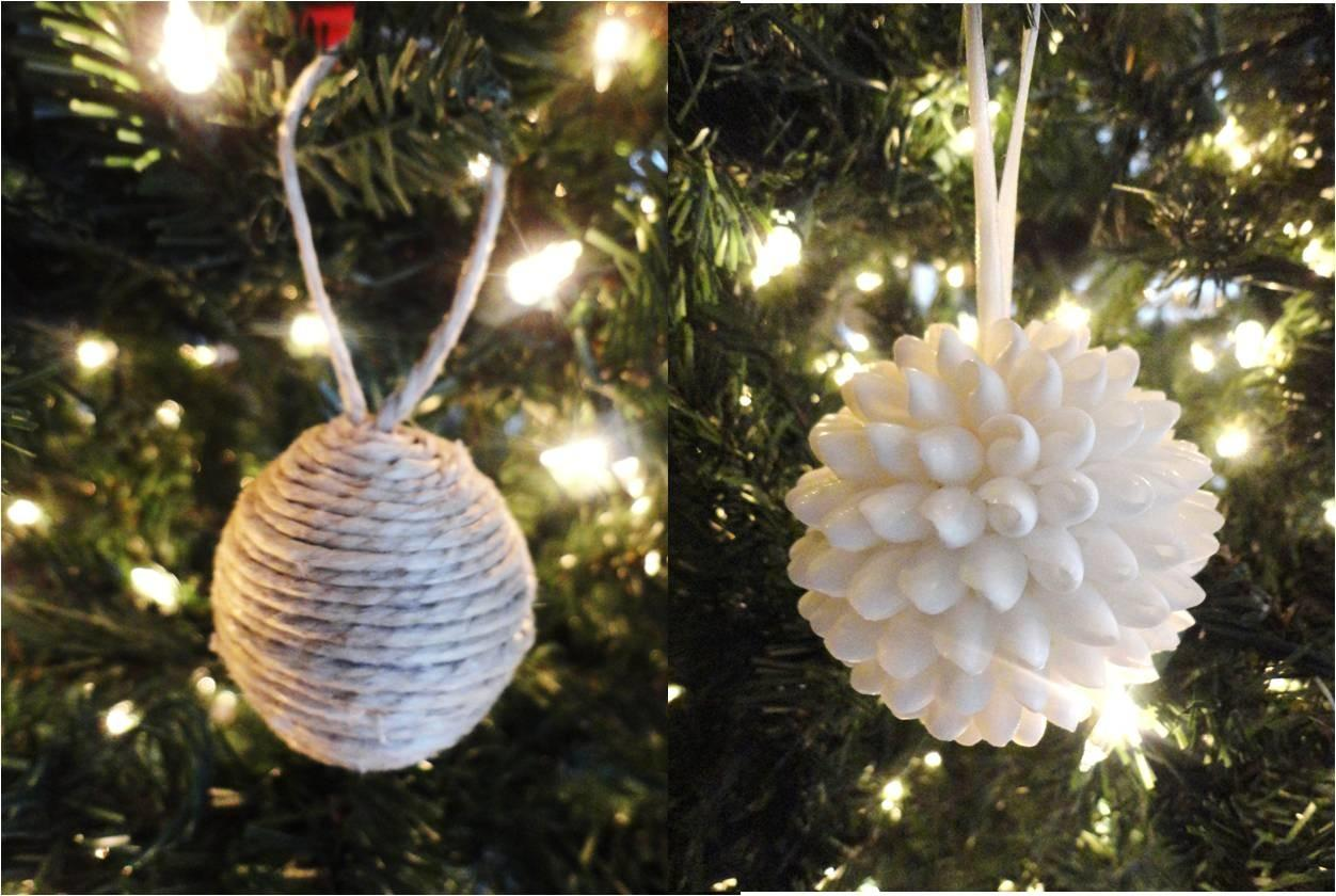 Christmas Ornaments Homemade Personalized