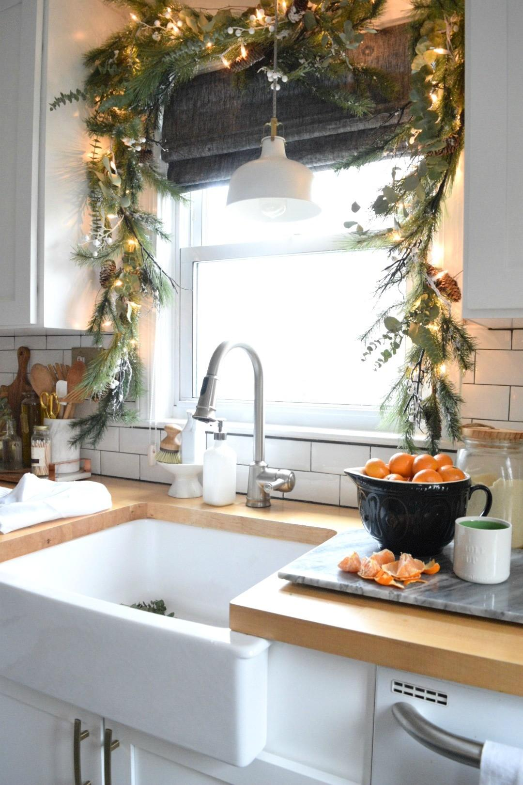 Christmas Our Small Kitchen Started