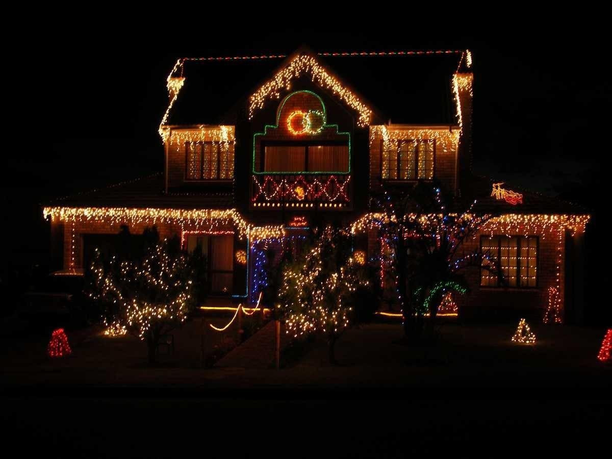Christmas Outdoor Lighting Ideas Rumah Minimalis
