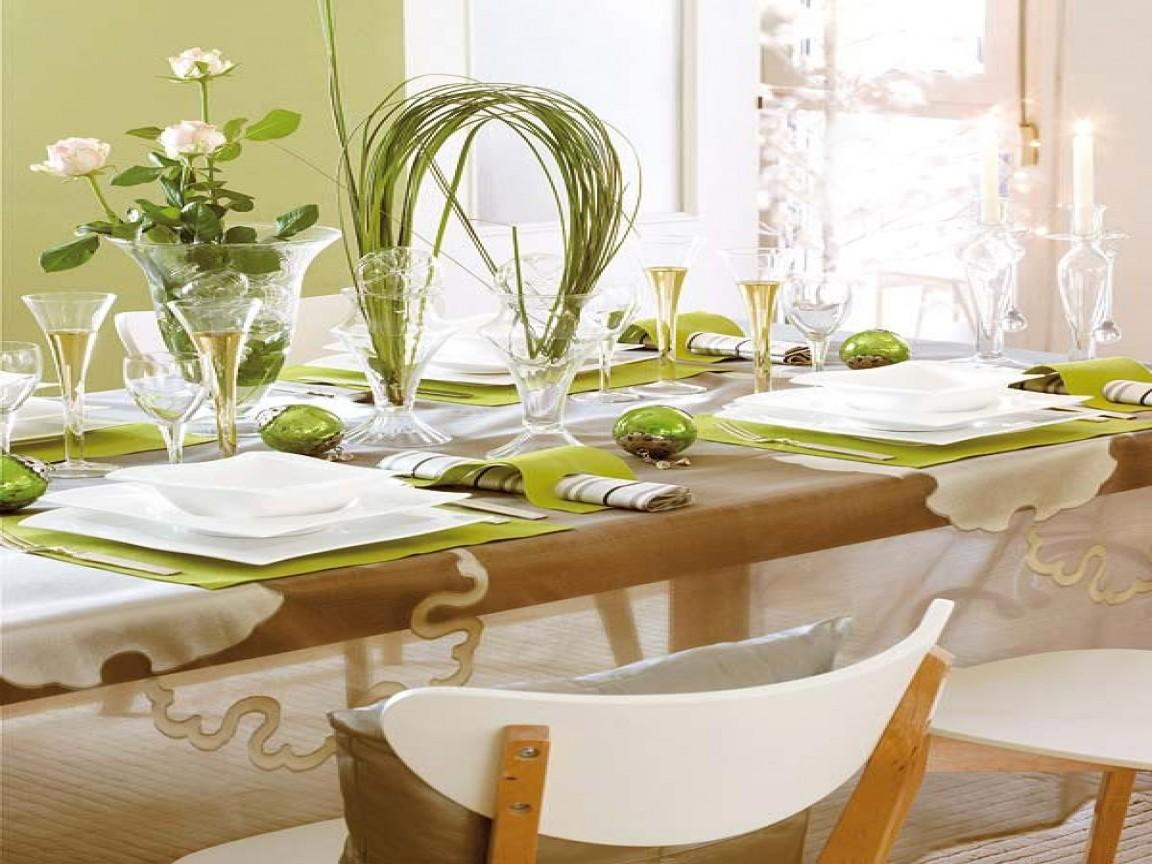 Christmas Party Table Centerpieces