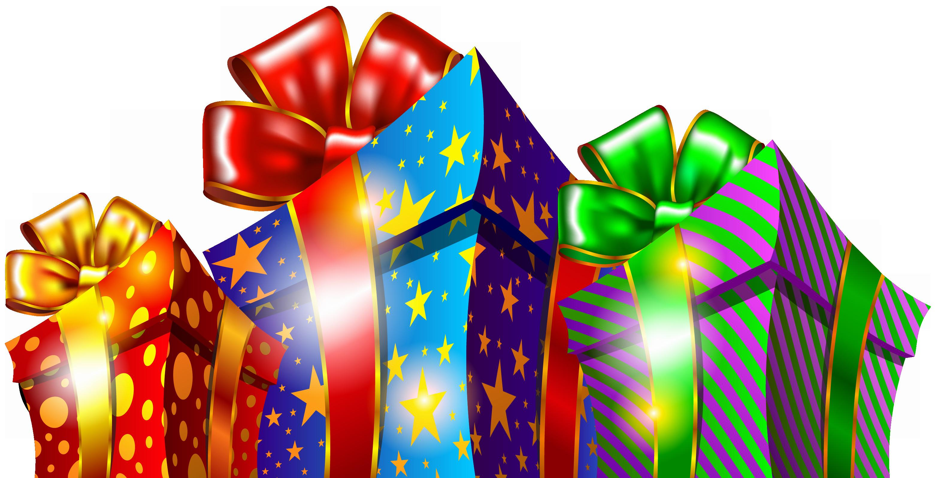 Christmas Presents Cliparts