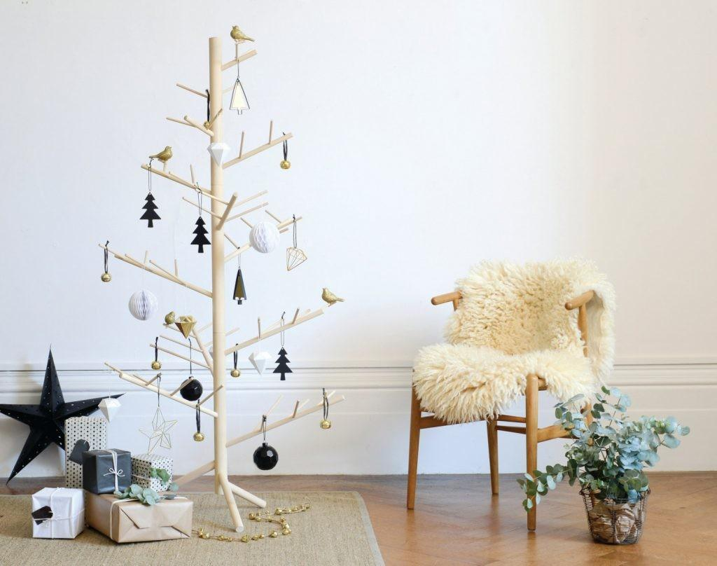Christmas Rustic Wooden Trees Tree Diy Stand
