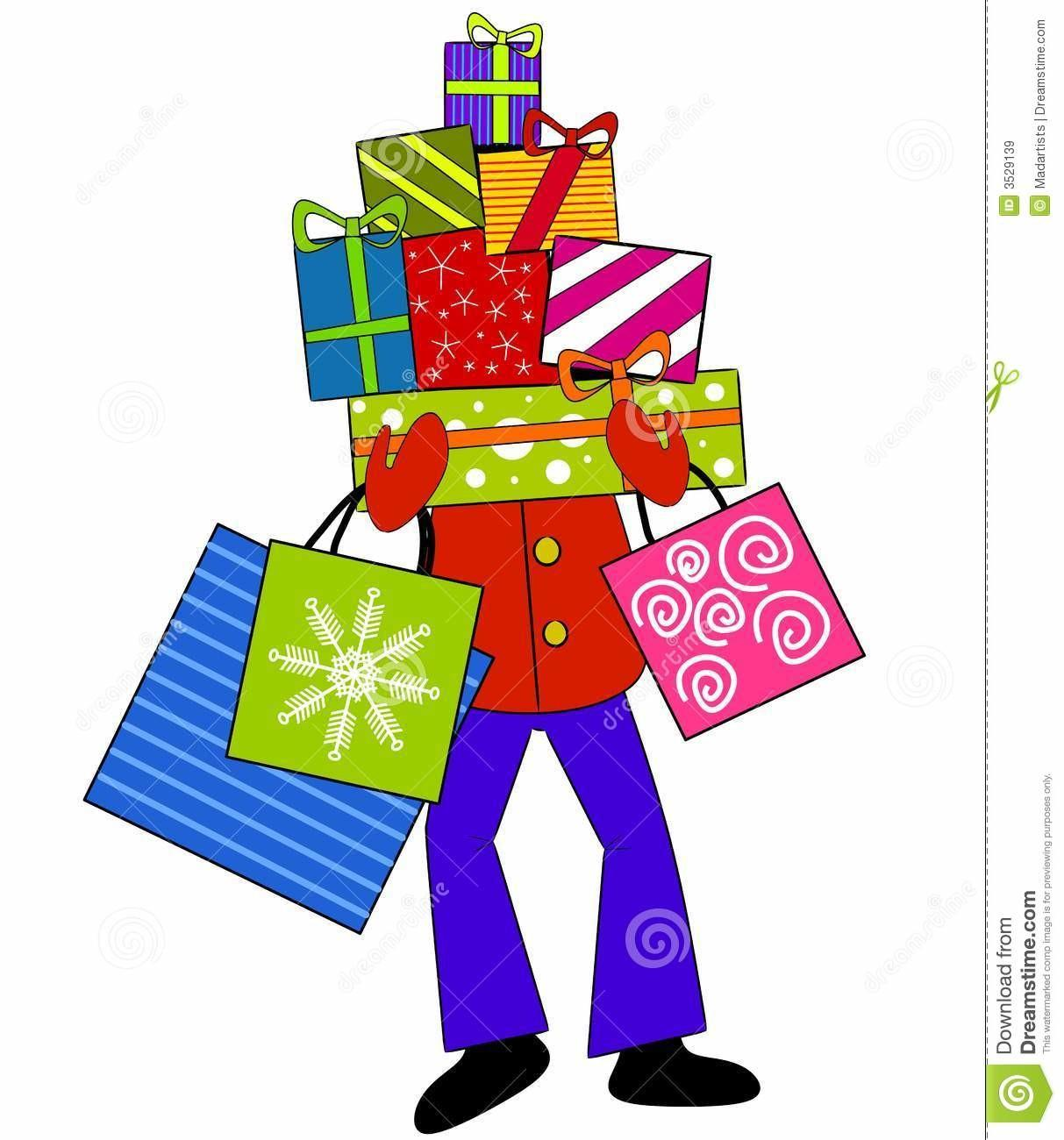 Christmas Shopping Clipart Many Interesting Cliparts