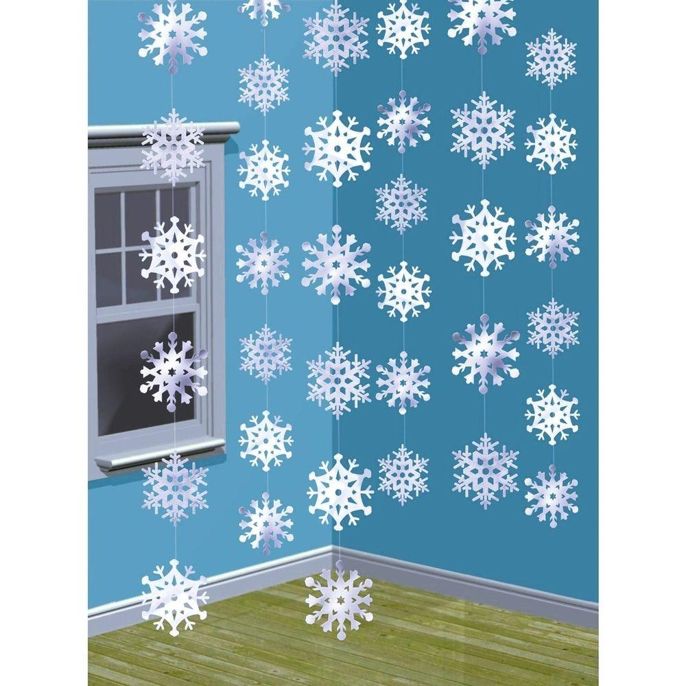 Christmas Snowflake Strings Frozen Party Hanging