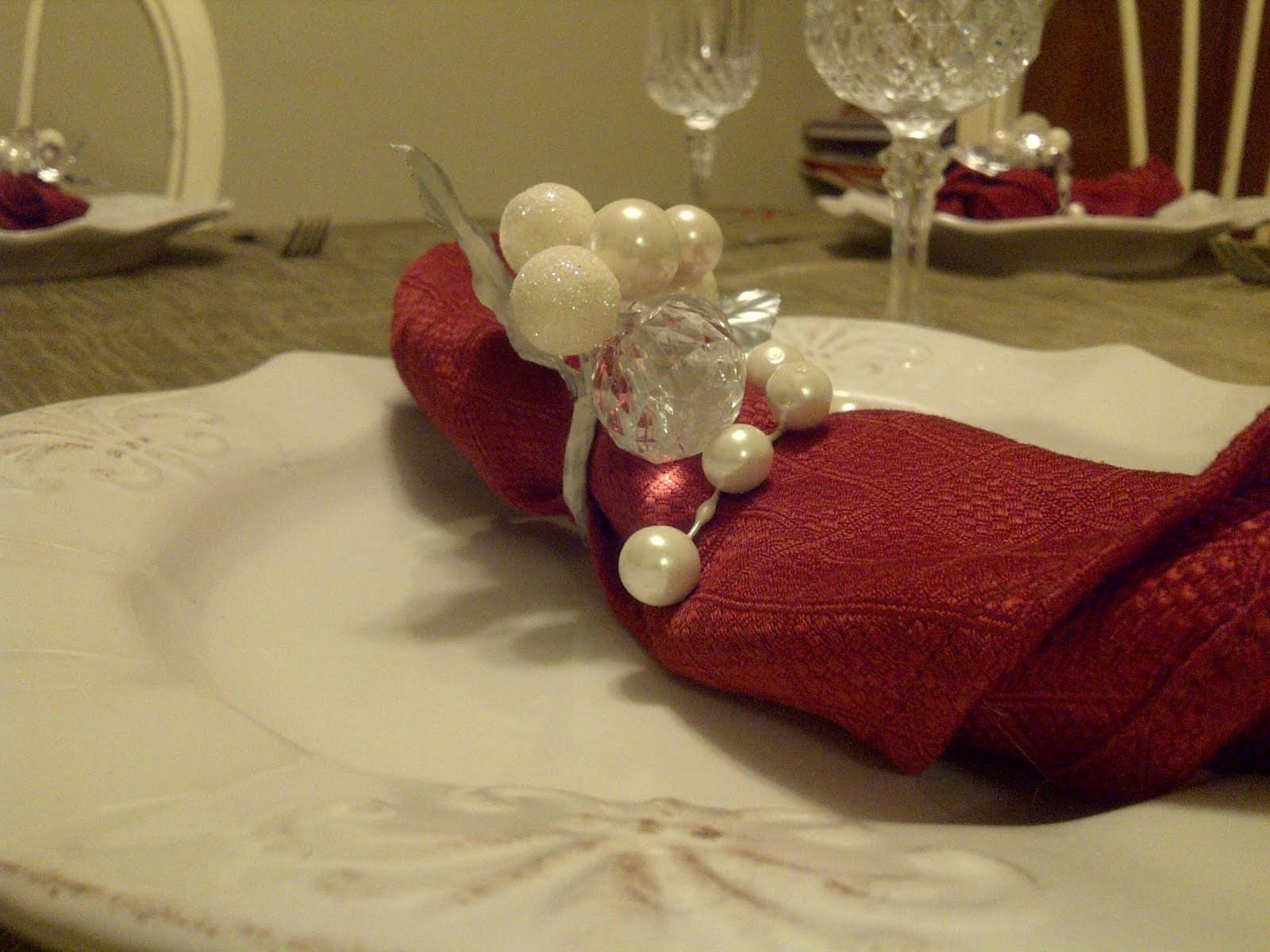 Christmas Special Quick Easy Napkin Rings Diy
