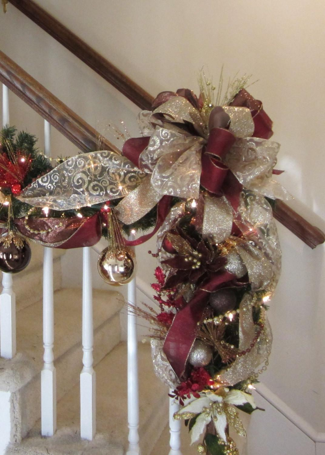 Christmas Swag Shipping Included Elegant Wreath Garland