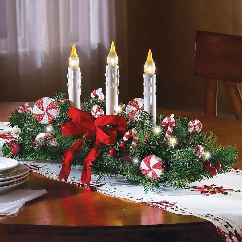 Christmas Table Centerpieces Soulful Party