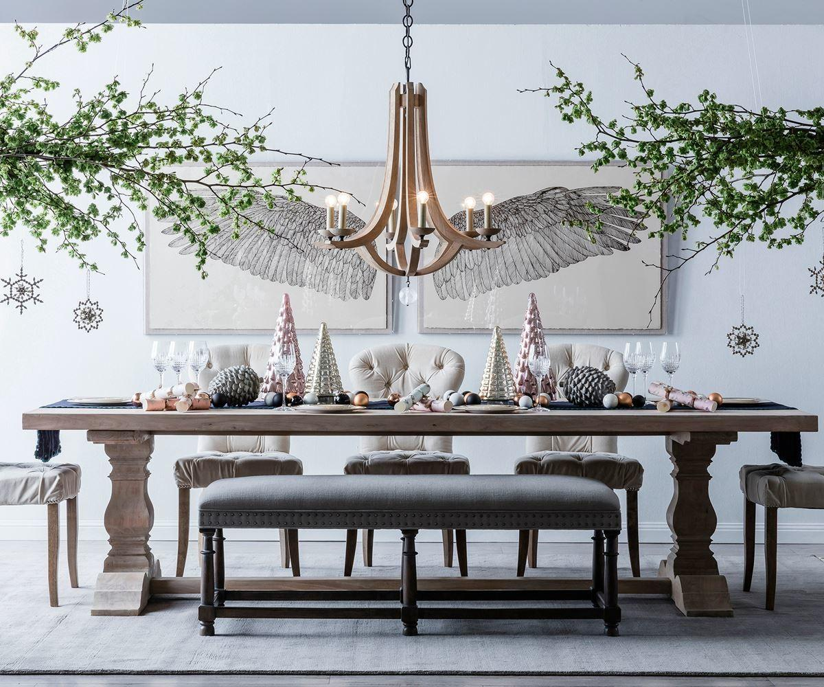 Christmas Table Decorating Ideas Homes