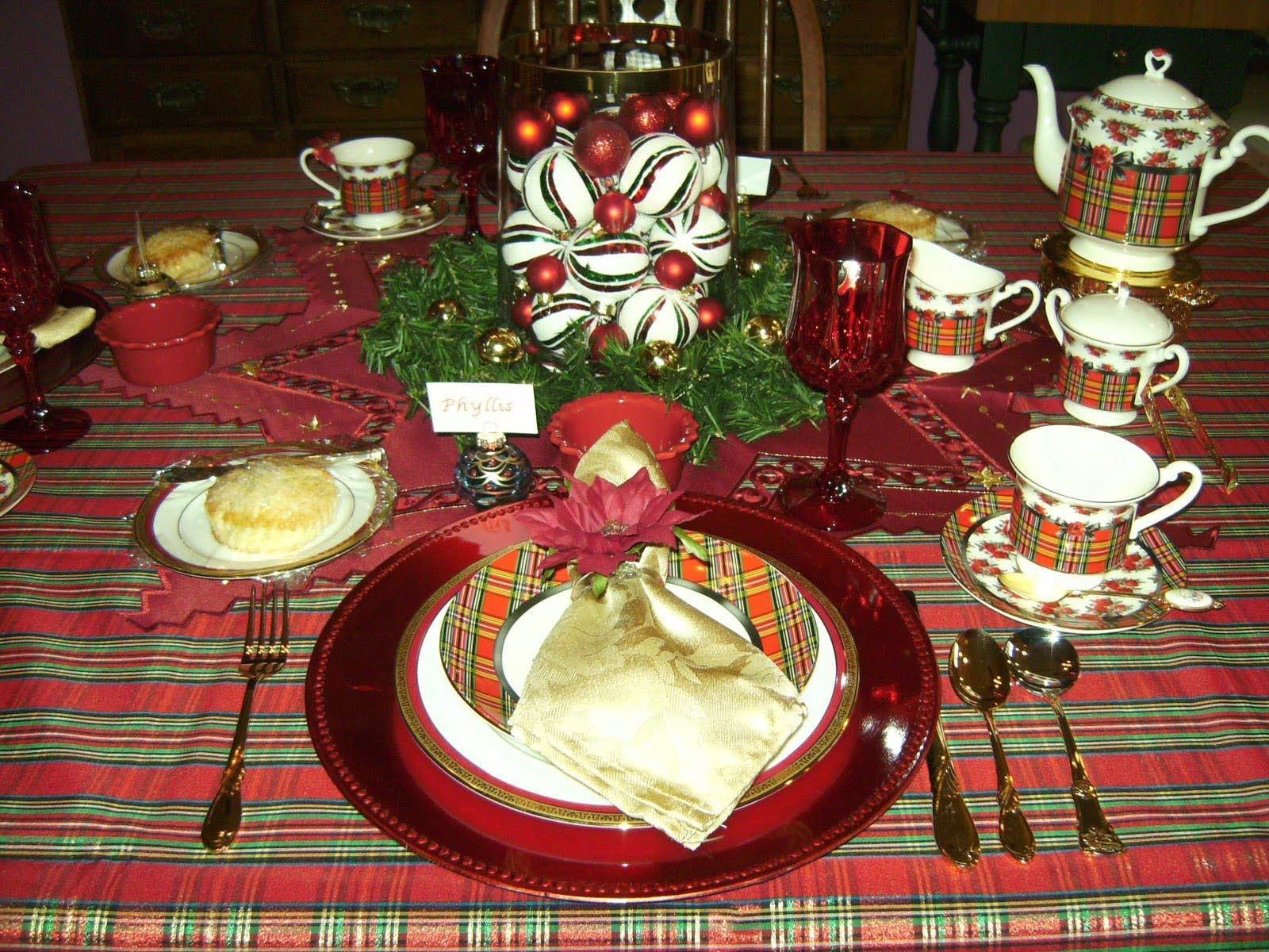Christmas Tea Party Ideas