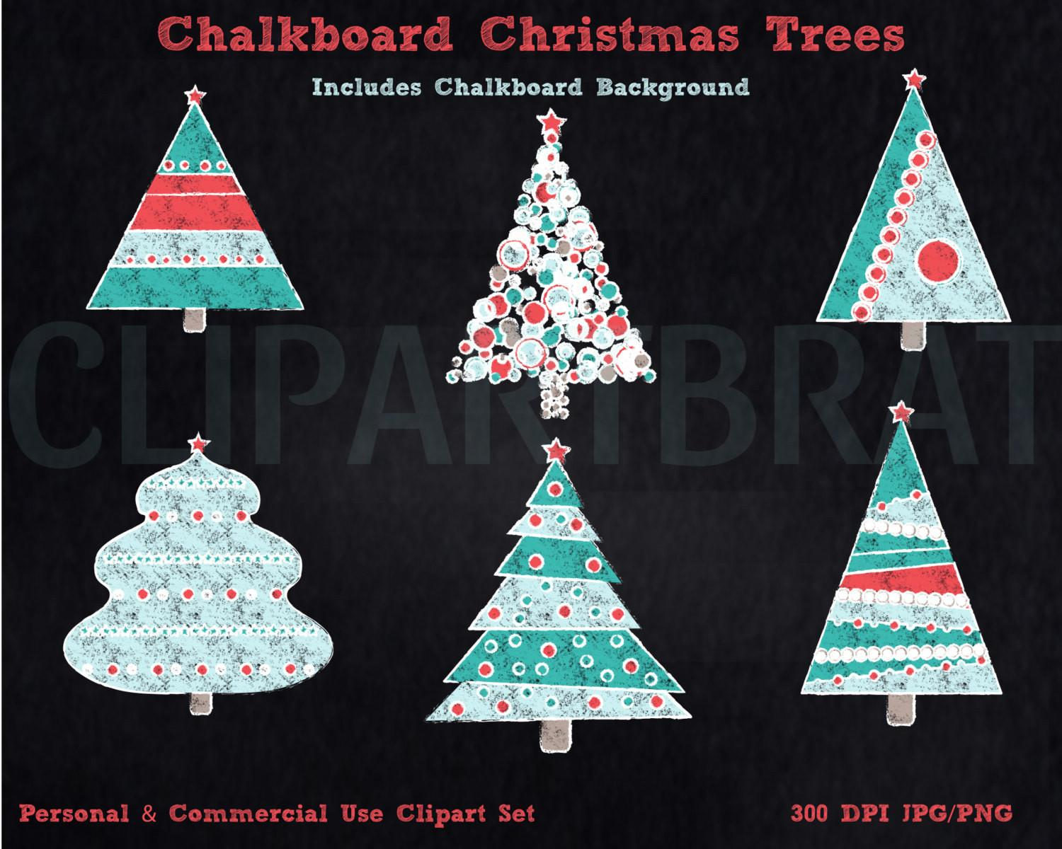 Christmas Tree Clipart Commercial Clip Art