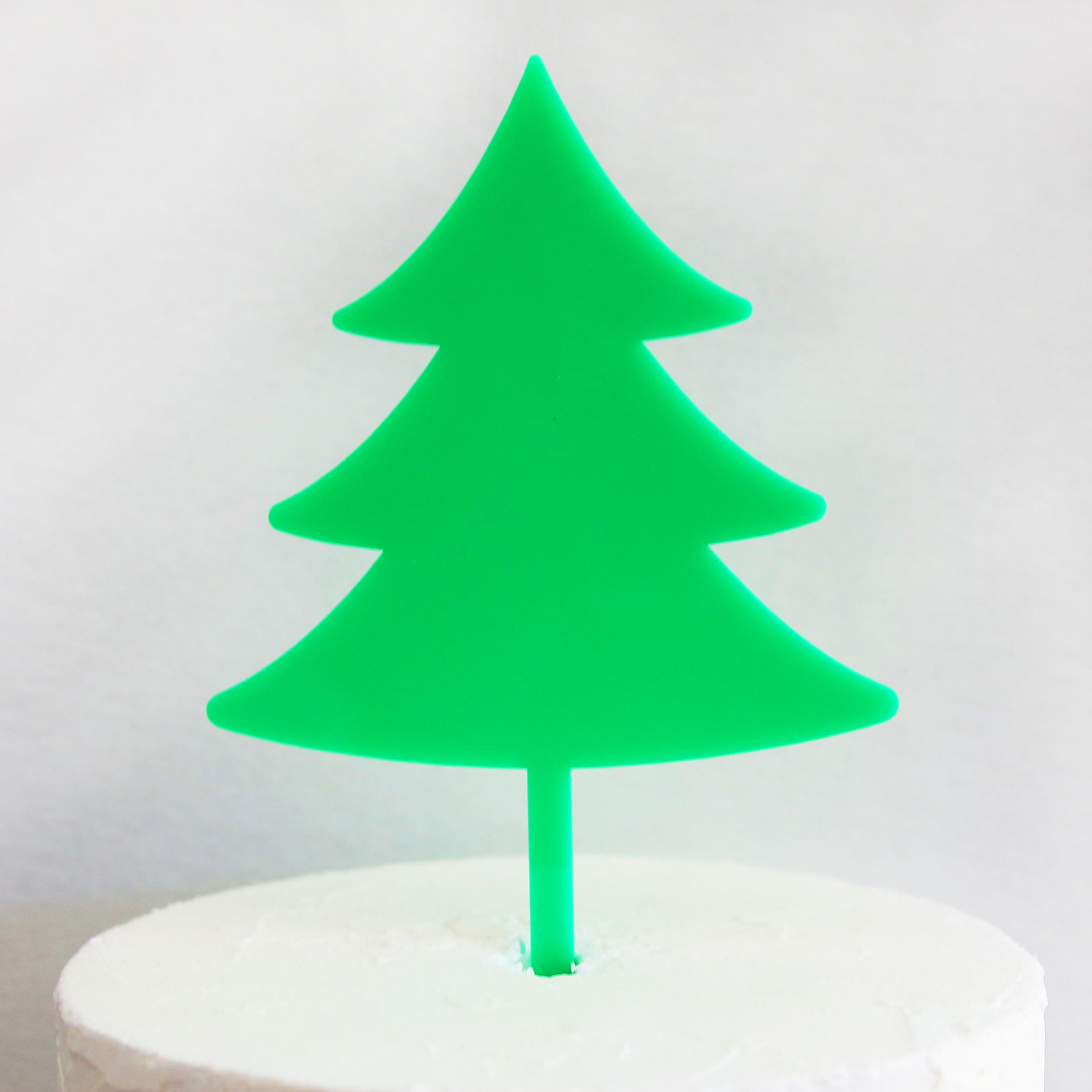 Christmas Tree Diy Cake Topper Sandra Dillon Design