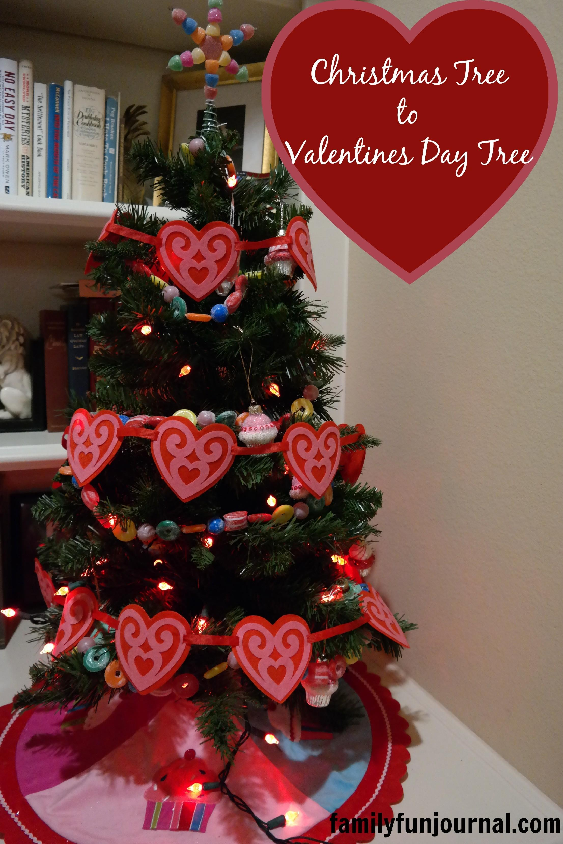 Christmas Tree Valentines Day Family Fun