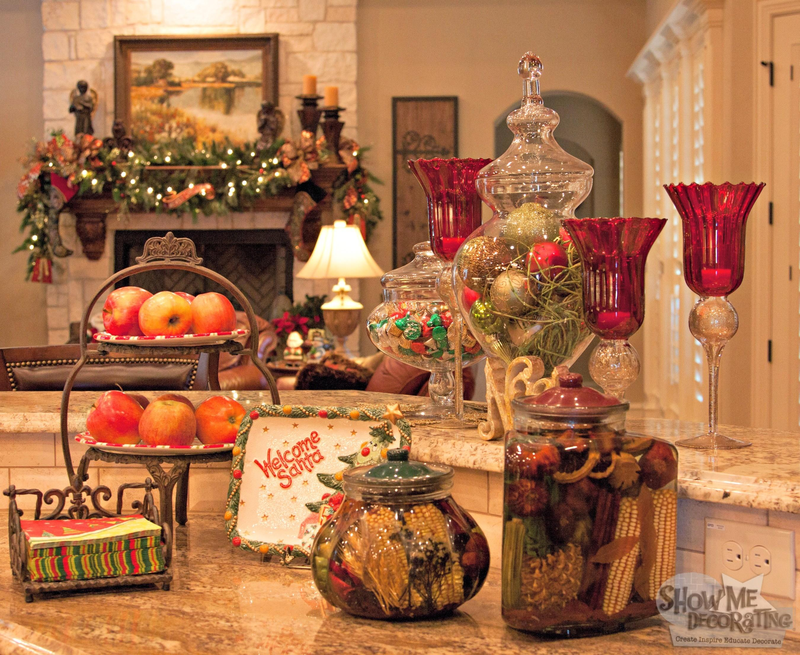 Christmas Trees Show Decorating