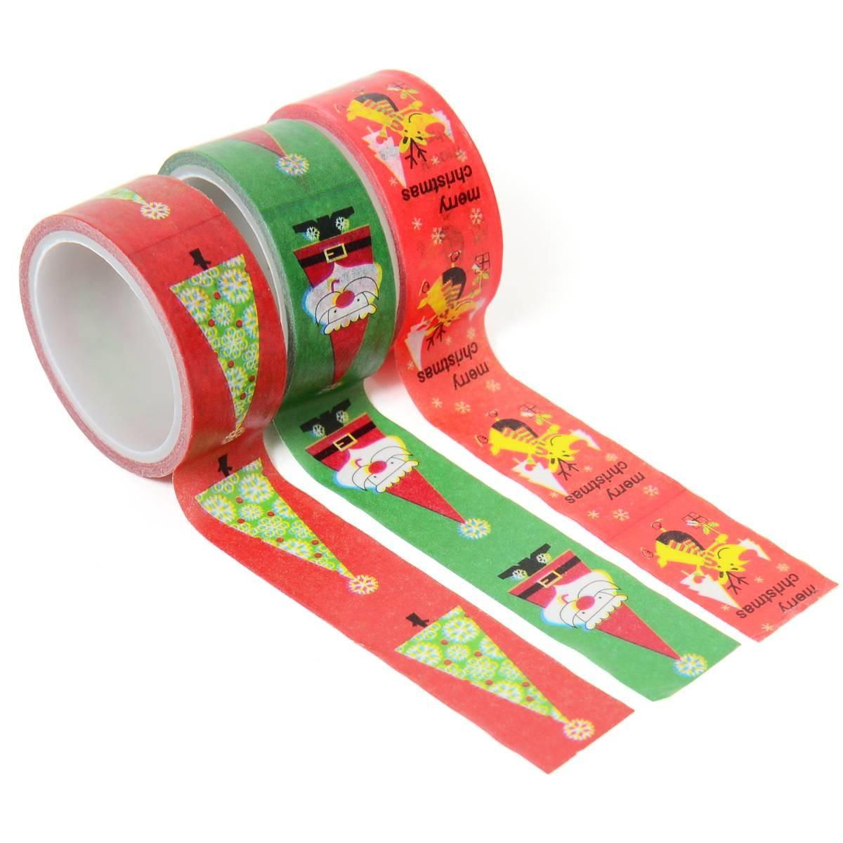 Christmas Washi Tape Set Pack Hobbycraft