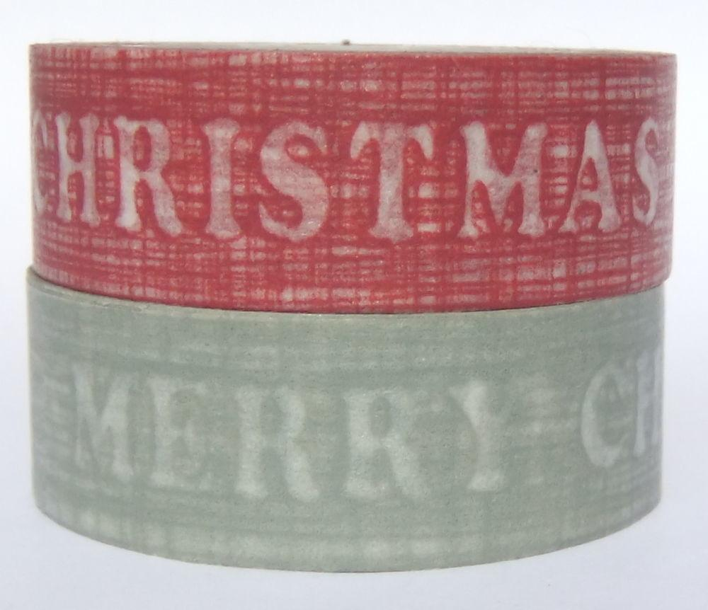 Christmas Washi Tape Vintage East India Style