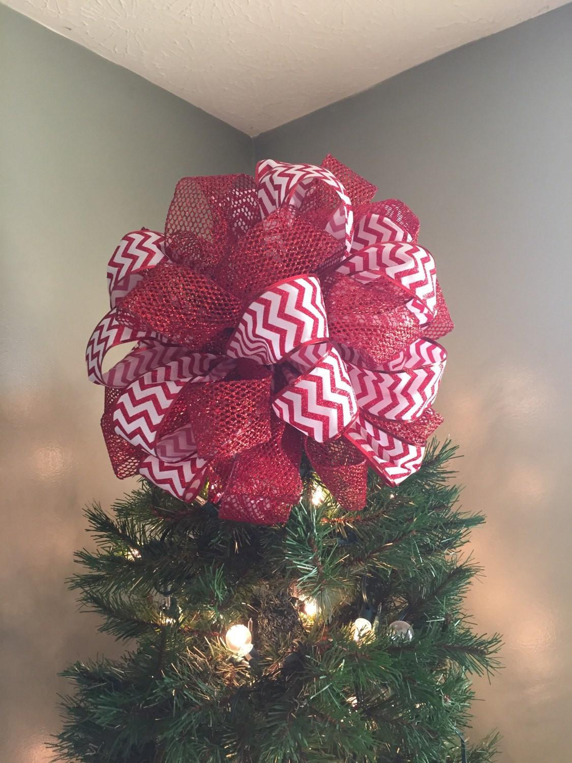 Christmas Whimsical Tree Topper Zig Zag Homedecorgoodies