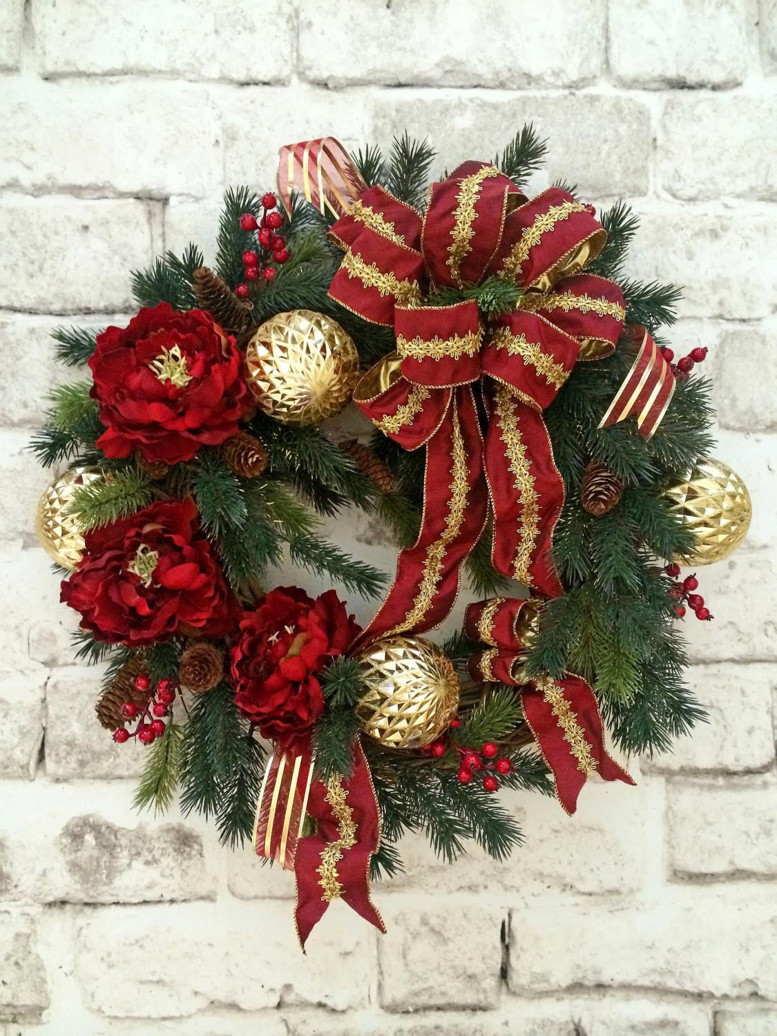 Christmas Wreath Holiday Decor Outdoor