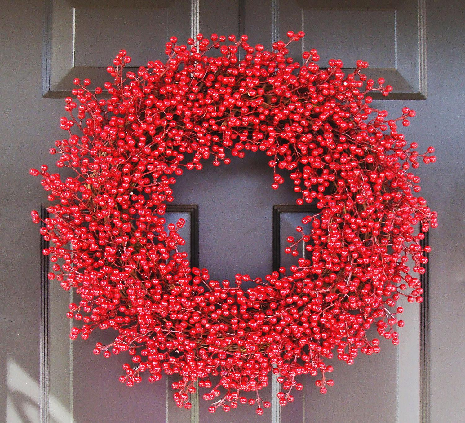 Christmas Wreath Winter Berry Chistmas