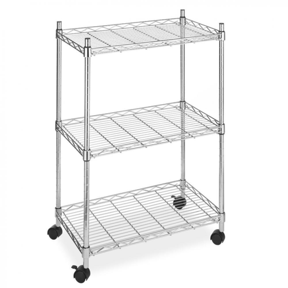 Chrome Kitchen Wire Stainless Steel Shelving Unit
