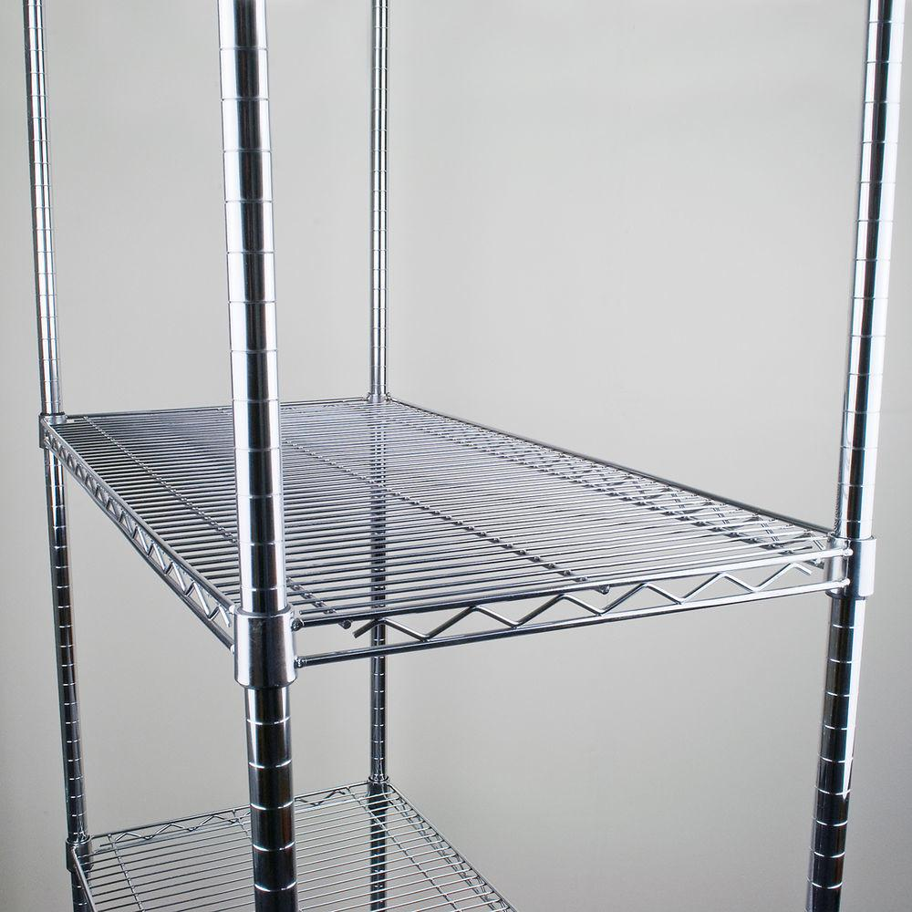 Chrome Wire Shelves Only Storage Racking Heavy Duty