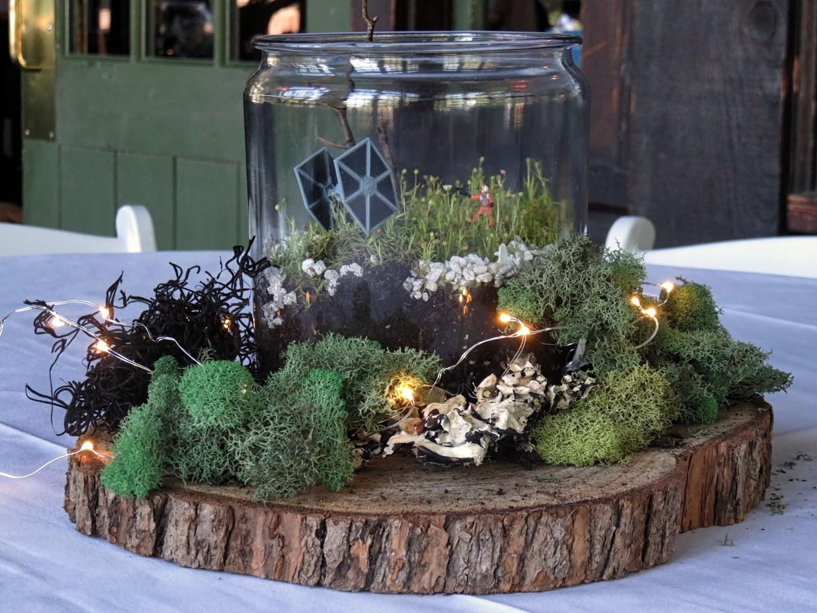 Chuck Does Art Wedding Centerpieces Diy Rustic