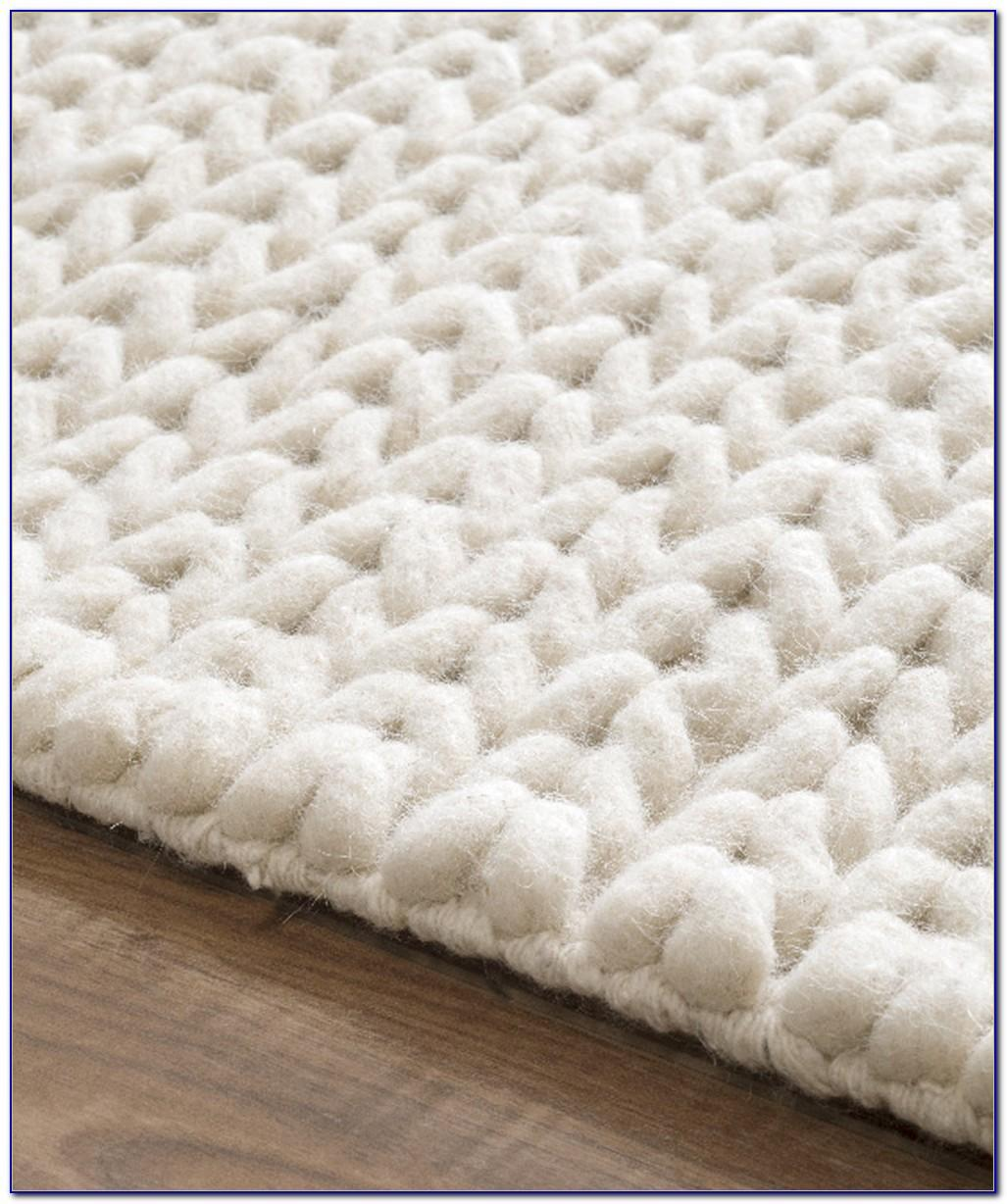 Chunky Knit Rug Rugs Ideas