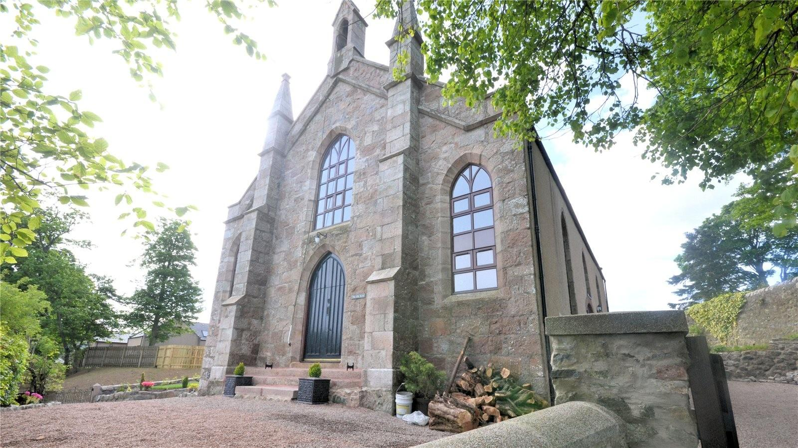 Church Converted Into Divine Family Home Aberdein Considine