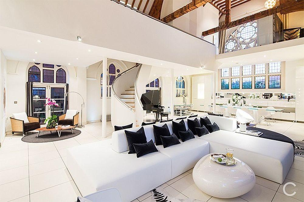 Church Converted Into Luxury Apartment Amazing