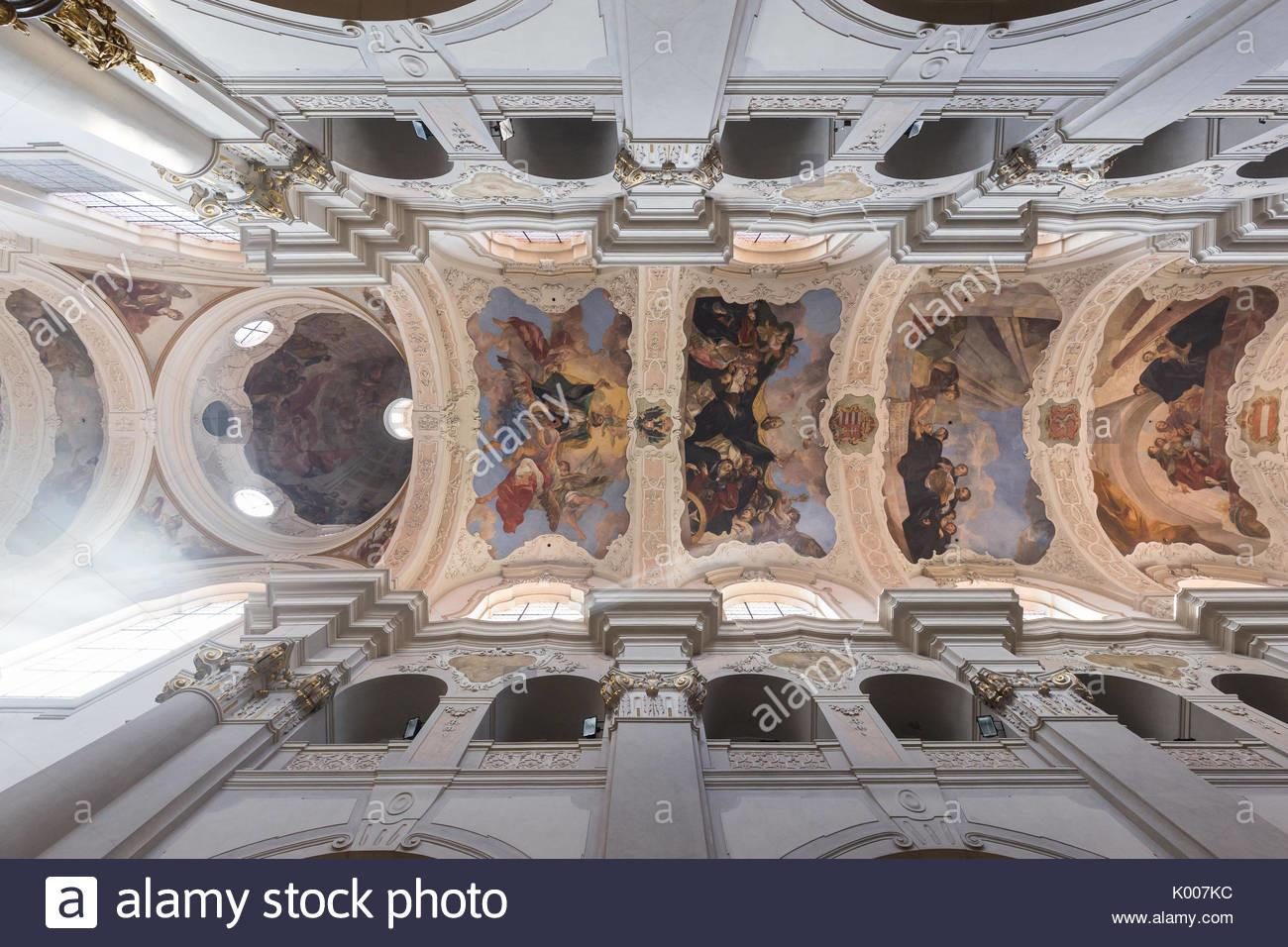 Church Dome Painting Stock Photos