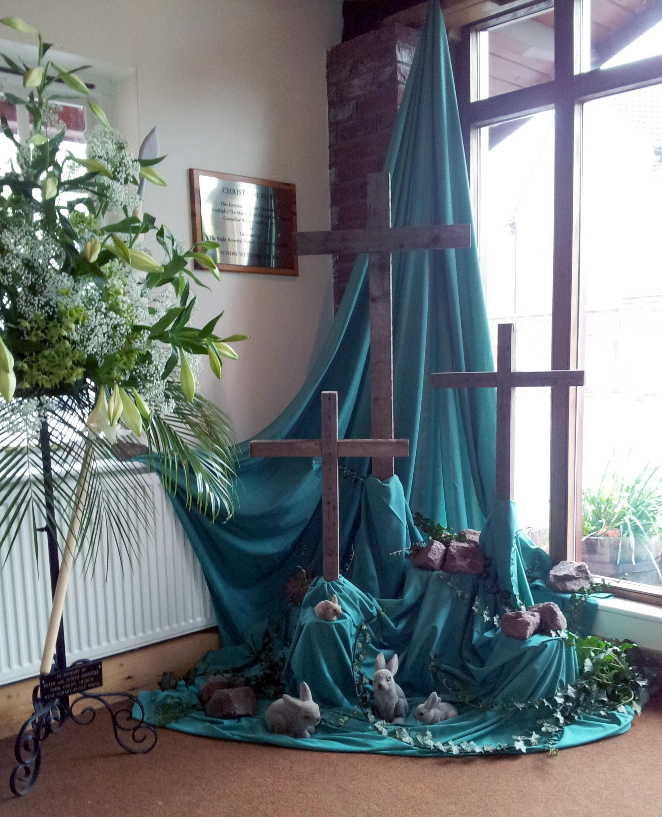 Church Table Decorations Easter Photograph 2223 2743