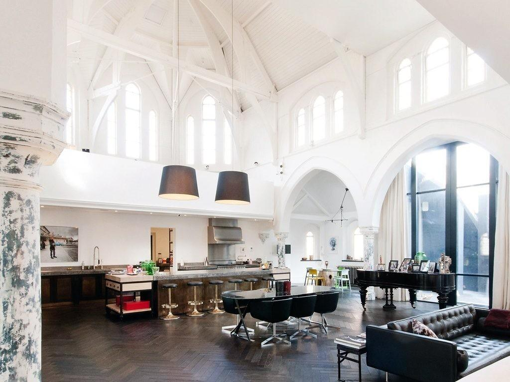 Churches Were Converted Into Truly Glorious Homes